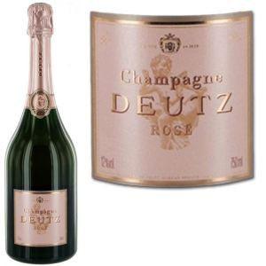 Image de Deutz Champagne brut rosé