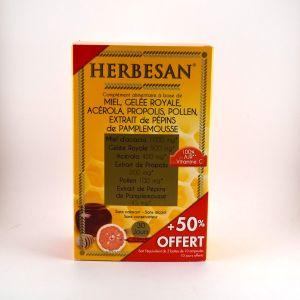 Herbesan Miel d'acacia - Gelée royale, acérola, propolis