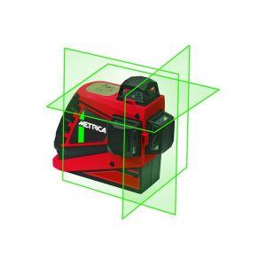 Metrica Niveau automatique laser 3D haute visibilité de couleur vert portée 30 M - 61410