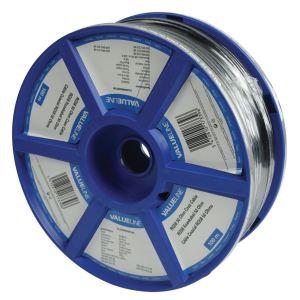 Valueline VLSR40902R100 - Câble coaxial RG58 en bobine de 100 m