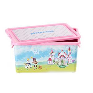 Playmobil 064662 - Boîte de rangement et boîte à compartiments Princesses