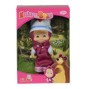 Simba Toys Poupée Masha en costume