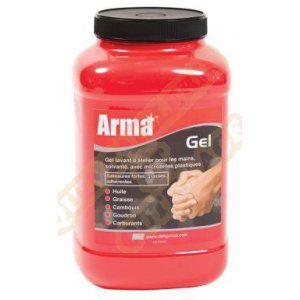 Arma Crème nettoyante gel pour atelier à salissure forte - 4.5L - Nettoyant spécial