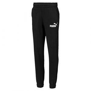 Puma Pantalon en sweat Essentials pour garçon, Noir, Taille 176