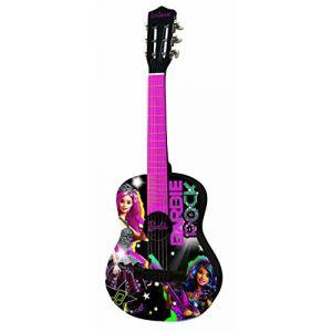 Lexibook K2000BB - Guitare acoustique Barbie Rock N Royals (78 cm)