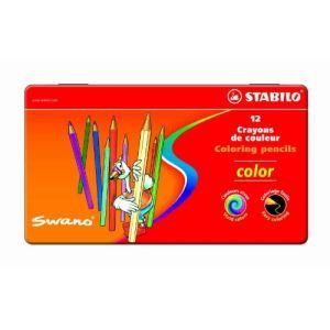 Stabilo 12 Crayons de couleur Color assortis