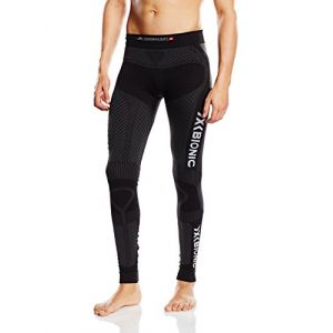X-Bionic O100088 Pantalon Homme Noir/Anthracite FR : L (Taille Fabricant : L)
