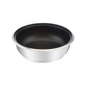 Lagostina 012143541824 Poêle wok inox 24cm maestria