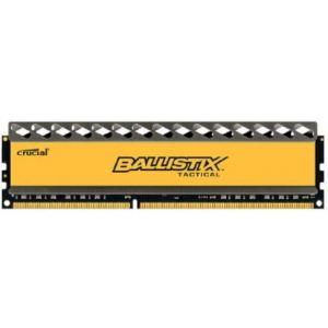Crucial BLT8G3D1608DT1TX0CEU - Barrette mémoire Ballistix Tactical 8 Go DDR3 1600 MHz Dimm 240 broches