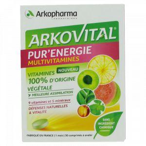 Arkopharma Arkovital - Pur'Energie, 30 comprimés