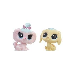 Hasbro Littlest PetShop - Pack de 2 PetShop Collection Sucrée (E1072)