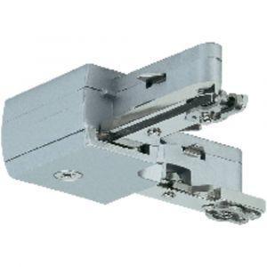 Paulmann Système rail U Light & Easy L-Connecteur Rigide Chrome Mat 230V Métal