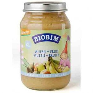 Biobim Petit pot Fruits : Müesli Fruits 200g - dès 8 mois
