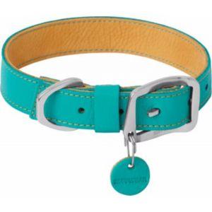 Ruffwear Collier Frisco en Cuir durable Menthe T51-58 cm