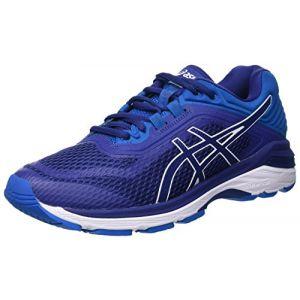 Asics Gt-2000 6, Chaussures de Running Homme, Bleu (Blue Print/Race Blue 400), 44.5 EU