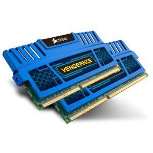 Corsair CMZ8GX3M2A1600C9 - Barrettes mémoire Vengeance 8 Go (2 x 4Go) DDR3 1600 MHz CL9 240 broches