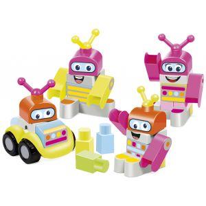 Ecoiffier Coffret Robots maxi Abrick