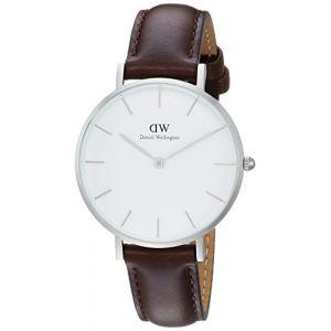 Daniel Wellington DW00100183 - Montre pour femme avec bracelet en cuir