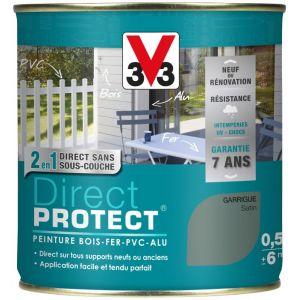 V33 Direct Protect satin garrigue 500 ml - Peinture extérieure multi-matériaux