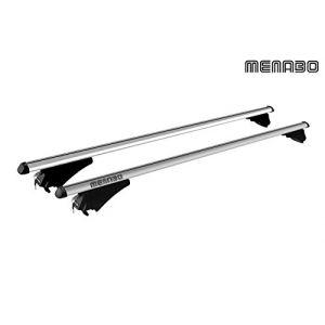 Menabo Barres de toit Railing pour Renault Grand Scenic Iv Dès 2017 Nouveauté 2017 Barres de toit railing simple et rapide à monter