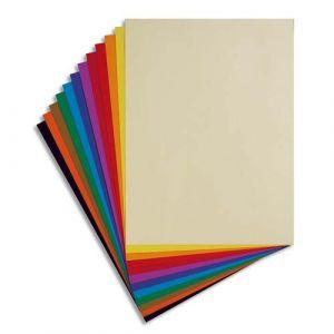 Lefranc & bourgeois Paquet de 24 feuilles dessin couleur Tiziano 160 g