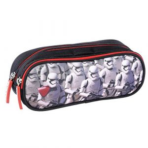 Alpa STAR WARS Trousse 2 Compartiments, 21 cm, Noir