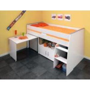 Lit combiné avec bureau (90 x 200 cm)