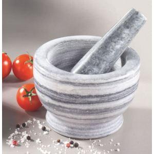 Table&cook JXMPM308 - Mortier et pilon en marbre PM (11 cm)