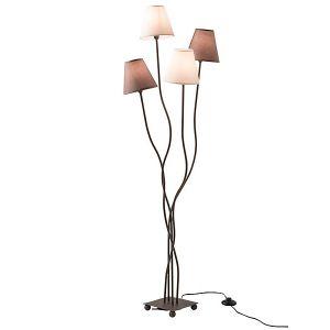 Näve 2040911 - Lampadaire 4 lumières 138 cm