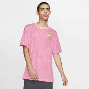 Nike Tee-shirt imprimé Sportswear pour Homme - Rose - Taille XL - Male