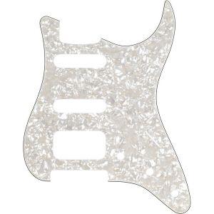 Fender Plaque de protection pour Stratocaster HSS white pearl