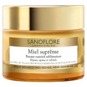 Sanoflore Miel Suprême - Baume nutritif sblimateur 50ml