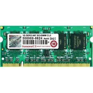 Transcend JM667QSJ-1G - Barrette mémoire JetRAM 1 Go DDR2 667 MHz 200 broches