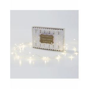 Talking Tables PPG2-LIGHTS Party Porcelaine Lumière LED Carton Papier Or 3 x 0,03 x 9,5 cm