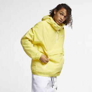 Nike Anorak tissé à capuche Sportswear pour Homme - Jaune - Couleur Jaune - Taille L