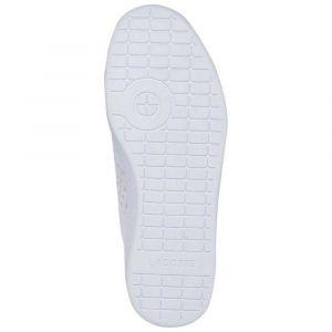 Lacoste Carnaby Evo White 39SFA0010 Chaussures pour Femme 38 - Rose - Blanc, 39 EU EU