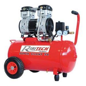 Ribimex Compresseur 2cv silencieux sur cuve 50 litres
