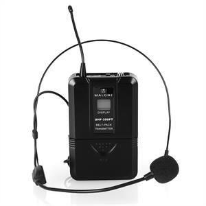 Auna UHF-450 Duo 2 canaux - Set micro UHF sans fil