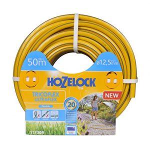 Hozelock 117009 Tuyau 50m diam 12,5mm Tricoflex Ultraflex