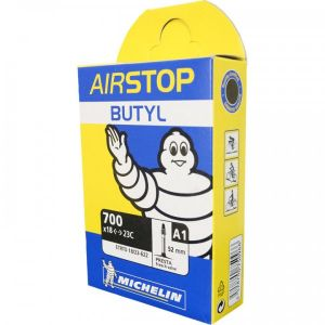 Michelin Airstop Butyl 700x18/23 Presta 52mm