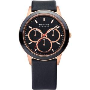 Bering Time 33840 - Montre pour homme avec bracelet en cuir