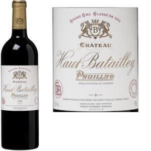 Image de Château Haut Batailley 2011 - Vin rouge de Bordeaux (AOC Pauillac)