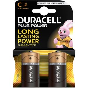 Duracell Piles LR14/C Plus Power