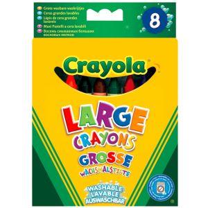 Crayola 8 maxi crayons en cire lavables
