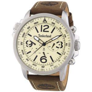 Timberland T13910JS - Montre pour homme avec bracelet en cuir