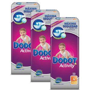 Dodot Couche Activity taille 4 (9-15 kg) - paquet de 150