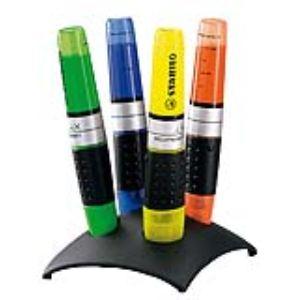 Stabilo Set bureau de 4 surligneurs Luminator pointe biseautée