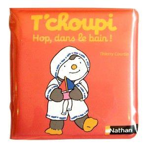 Nathan T'choupi - Livre de bain hop dans le bain