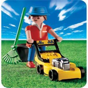 Playmobil 3233 - Jardinier et tondeuse