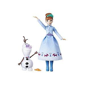 Hasbro Poupée La Reine des Neiges - Anna Manteau d'hier